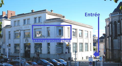 Contactez Maximilien Bartier, votre ostéopathe à Cholet